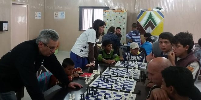 Más ajedrez contra el drama de los refugiados de la guerra siria