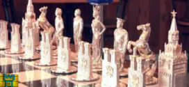 Video: Un juego de ajedrez de Putin y Obama de 350 mil dólares!
