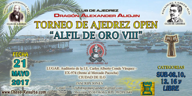 Ilo, Per.- Open Alfil de Oro VIII, 21 may 2017