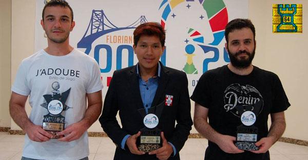 GM Jorge Cori (Perú) campeón del Zonal 2.4 2017 en Brasil