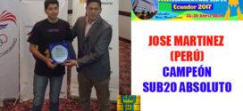 Peruano alcanzó título de Gran Maestro del Ajedrez en Sudamericano Sub-20
