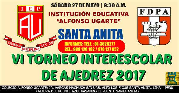 Lima, Per.- VI CAMPEONATO INTER ESCOLAR 2017, 27 may