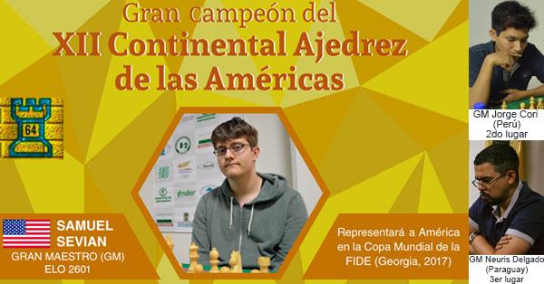 Samuel Sevian es el Campeón Continental 2017 | Informe Especial