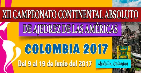 Empezó el Continental de Ajedrez Medellín 2017