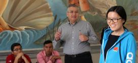 Hou Yifan visitó Tequisquiapan en México