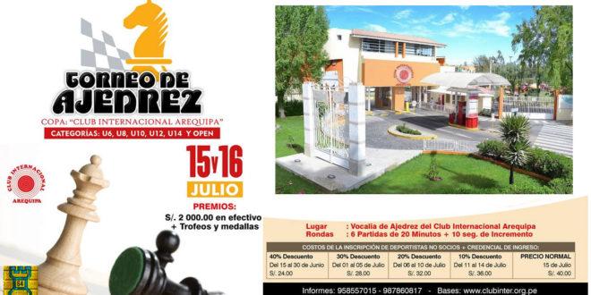 Arequipa, Per.- Copa Club Internacional Arequipa, 15 y 16 jul 2017