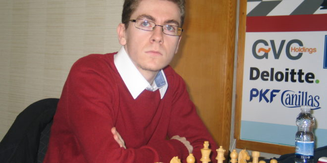 David Antón, subcampeón de Europa, en el 'Torneo Internacional de Ajedrez' en Alcubierre