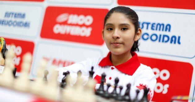 Fiorella Contreras, niña peruana campeona mundial de ajedrez