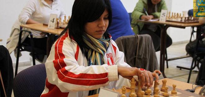 Peruana Cori conquista Panamericano (f) de Ajedrez