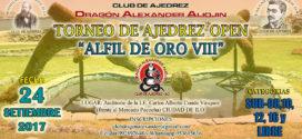 Ilo, Per.- Torneo de Ajedrez Open Alfil de Oro VIII, 24 sep 2017
