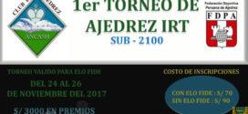 Caraz, Per.- I IRT Sub2100 Ciudad de Caraz, 24 al 26 Nov 2017