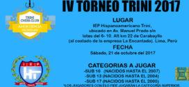 Lima,Per.- IV TORNEO TRINI 2017, 21 oct