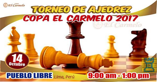 Lima, Per.- Torneo de AJEDREZ Copa EL Carmelo 2017, 14 oct