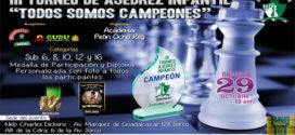 Lima, Per.- Torneo de Ajedrez Todos Somos Campeones, 29 oct 2017