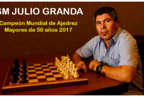 Julio Granda es el nuevo Campeón Mundial 2017 para Mayores de 50 años