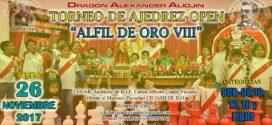 Ilo, Per.- Open Alfil de Oro VIII, 26 nov 2017