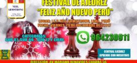 Lima, Per.- Festival de Ajedrez Feliz Año Nuevo Perú, 29 dic 2017