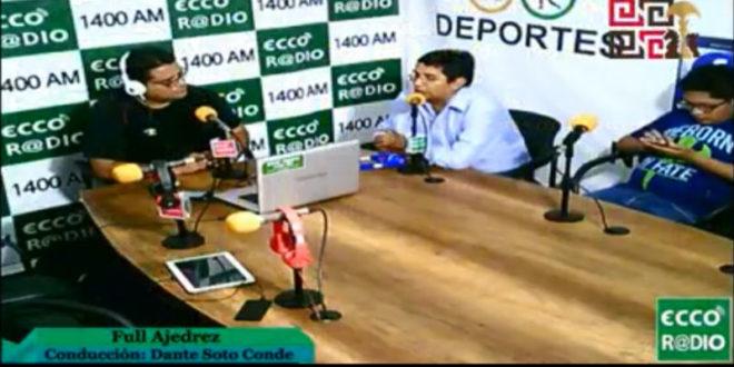 Lima, Per.- Entrevista a Luis Arcos en Full Ajedrez con Dante Soto