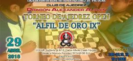 Ilo, Per.- Torneo de Ajedrez Open Alfil de Oro IX, 29 abr 2018