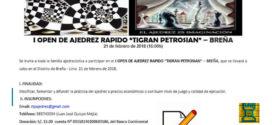 Lima, Per.- I Open de Ajedrez Rapido Tigran Petrosian, 21 feb 2018