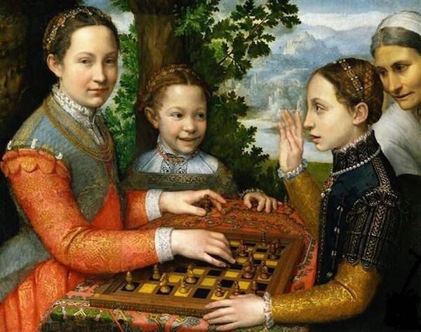 Resultado de imagen de caravaggio chess museum